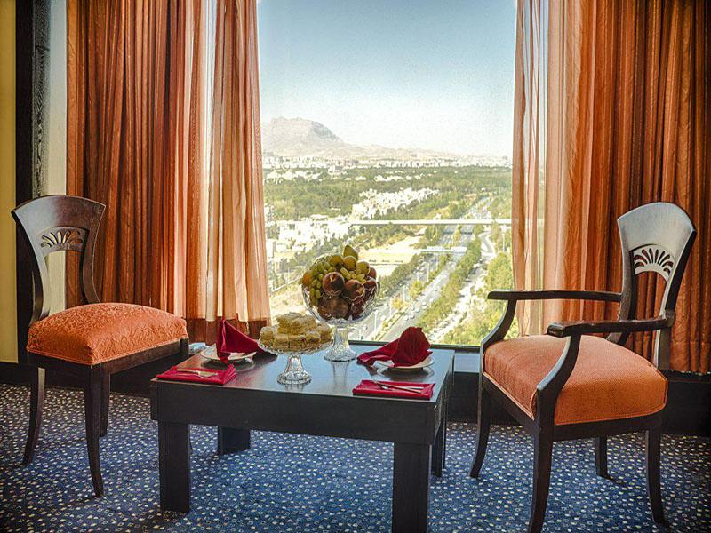 dreamy view of rooms of Chamran Hotel Shiraz